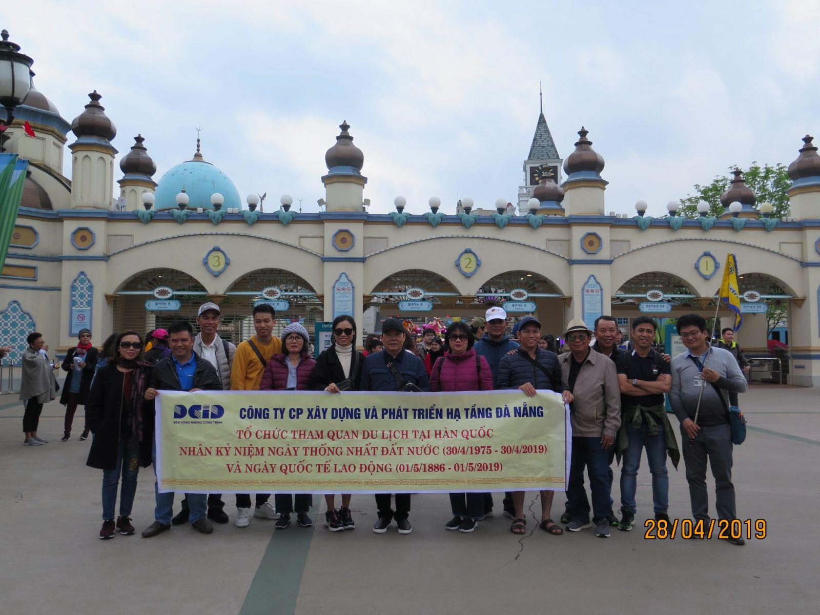 DCID tổ chức cho CBCNV tham quan nhân Kỷ niệm ngày Chiến thắng 30/4 và Quốc tế Lao động 01/5