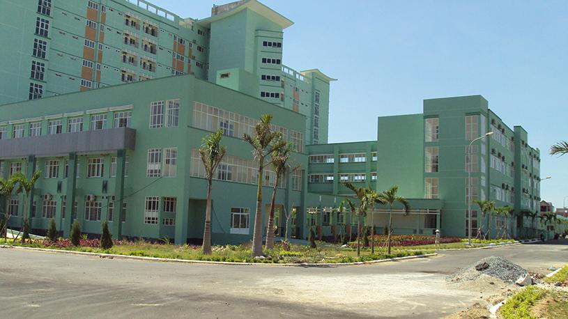 Khu trung tâm, nhà nối, khối nhà phụ trợ và hạ tầng kỹ thuật – Bệnh viện Đa khoa Đà Nẵng