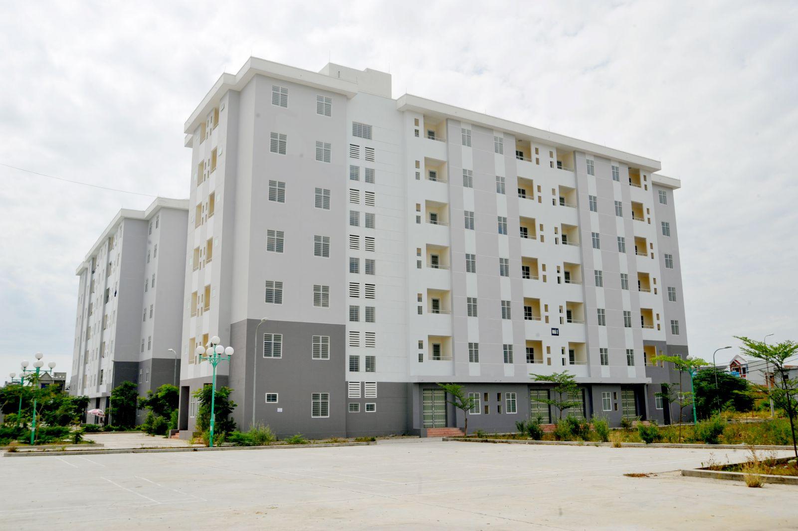 06 Khối nhà 07 tầng – Chung cư nhà ở xã hội tại Khu A2 KDC Nam cầu Cẩm Lệ