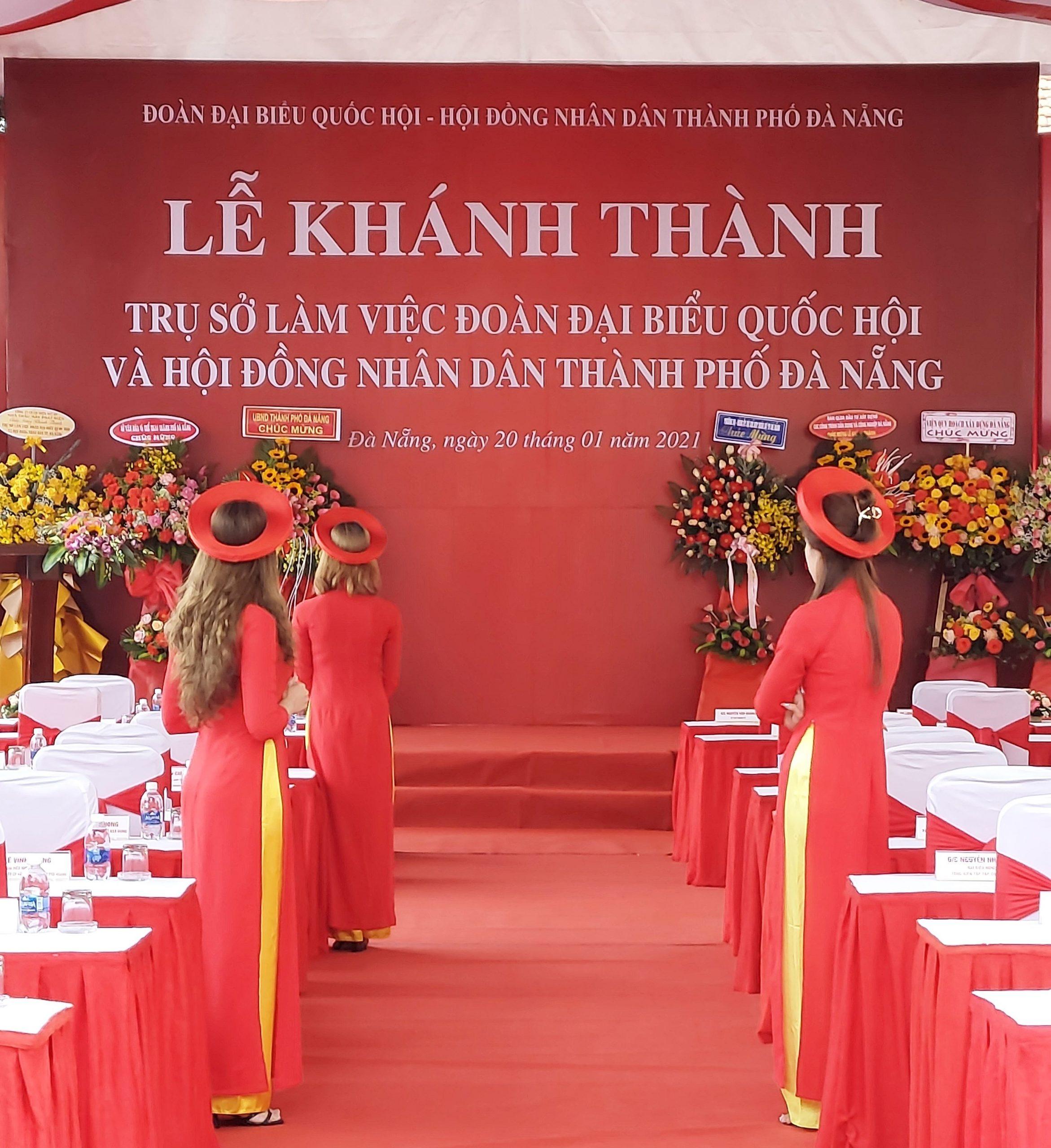 Khánh thành Trụ sở làm việc Đoàn Đại biểu Quốc hội và Hội đồng nhân dân thành phố Đà Nẵng