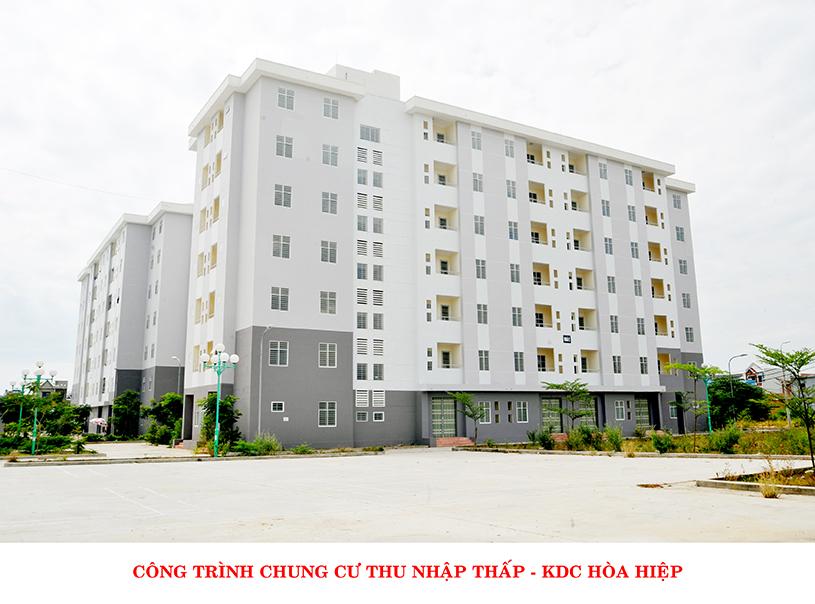 05 Khối nhà 07 tầng – Chung cư nhà ở xã hội tại Khu TĐC Hòa Hiệp 2